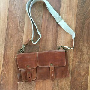 Leather Fanny Pack with Adjustable Strap